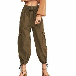 Free People Fly Away Parachute Pant Size 10 NWT